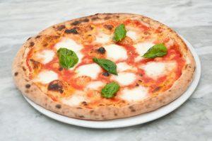 Storia pizza margherita