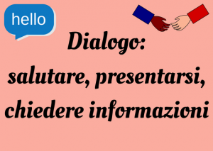 presentarsi italiano