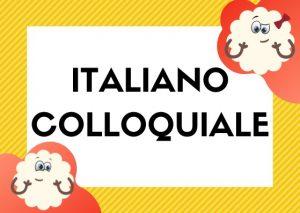 italiano colloquiale libro