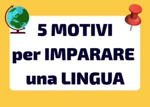 perché imparare una lingua straniera