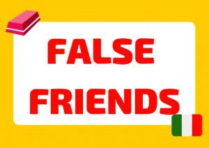 Italian false friends