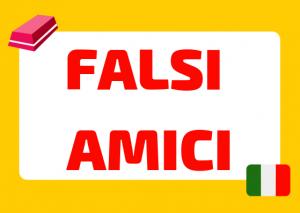 falsi amici italiano