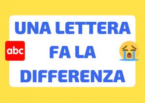 parole ingannevoli italiane