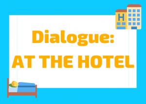 Italian dialogue hotel