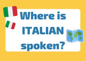 where is Italian spoken
