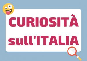curiosita italia