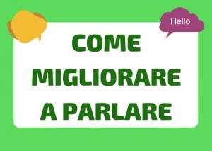 parlare italiano bene