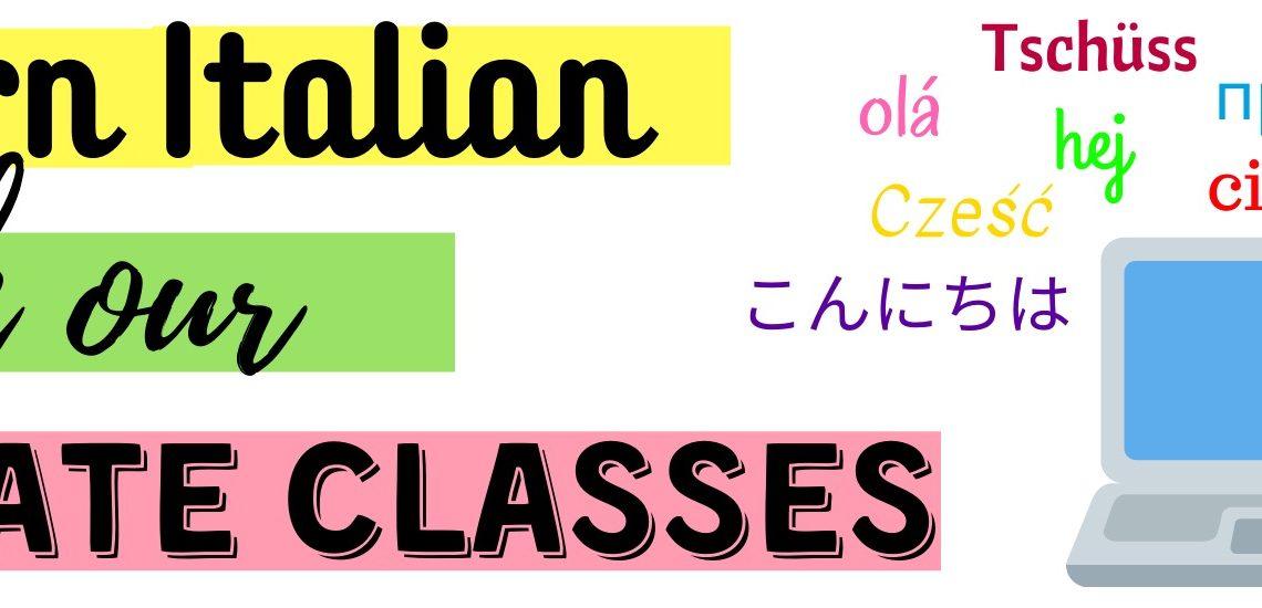 Italian online classes