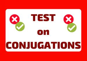 test Italian verbs