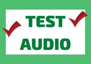 Test di Comprensione Audio/Ascolto in italiano (Listening Test)